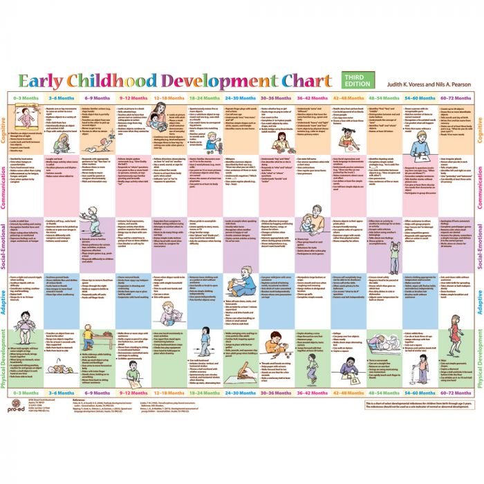 Resources For Therapists Teachers Parents And Carers Early Childhood Development Chart 3rd Edition Winslow