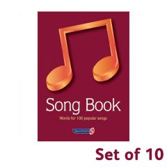 Song Book (pack of 10)