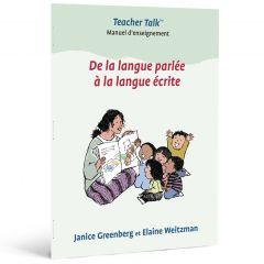 De la langue parlée à la langue écrite