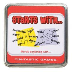 Tin-Tastic- Starts With....