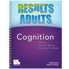 Results for Adults: Cognition