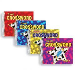Travel Crossword Books - Set of 4