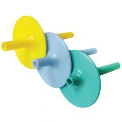 Lip Blok Straw Positioner - Blue (1.27cmL)