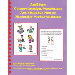 Auditory Comprehension/Vocabulary for Non or Minimally Verbal Children - Book