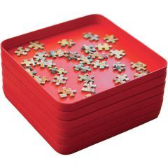 Jigsaw Puzzle Piece Sorting Trays - Set of 6
