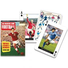 Themed Conversation Playing Cards: Football Legends