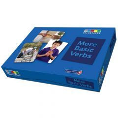 Colorcards: More Basic Verbs - 36 Cards