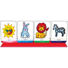 Plastic  Card Holders - Set of 3