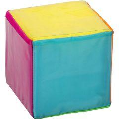 Clear Pocket Activity Cube - 16 cm