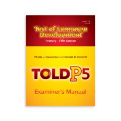 TOLD P-5 Assessment Tool