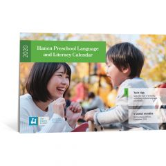 Hanen 2020 Pre-School Language and Literacy Calendar
