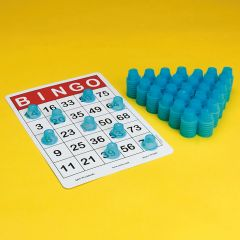 3D Bingo Chip Markers