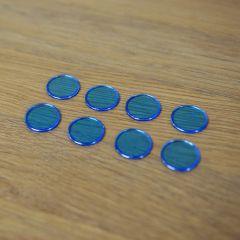 Metal-Rimmed Bingo Chips: 200 Markers