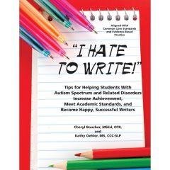 I Hate to Write! - Book