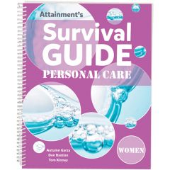 Survival Guide: Personal Care (Women) - Book and Cards