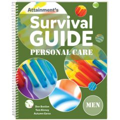 Survival Guide: Personal Care (Men) - Book and Cards