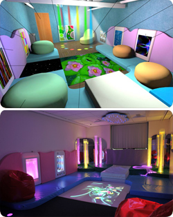 Knowsley College Sensory Room