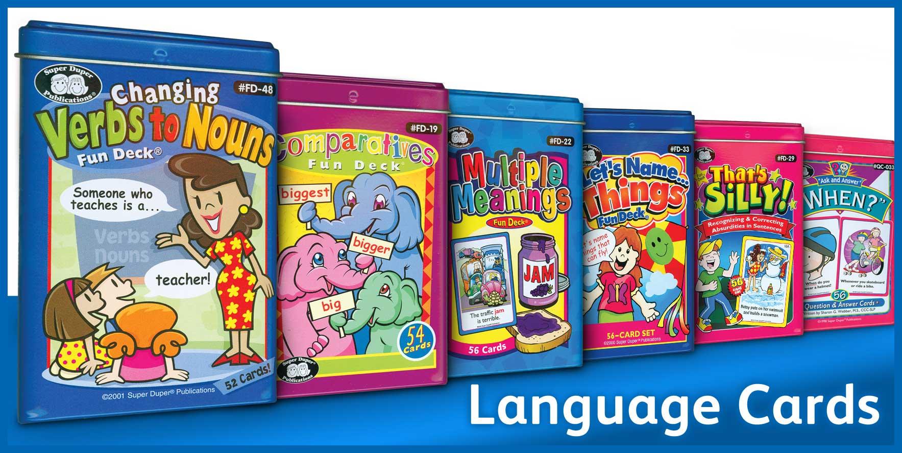 Shop for Language Cards