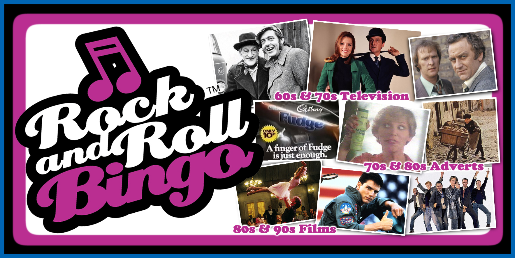 Shop for Rock and Roll Bingo